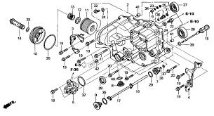 2003 honda rincon 650 wiring diagram wiring diagram honda rincon engine diagram wiring diagrams best2005 honda fourtrax rincon 650 trx650fa front crankcase honda rincon