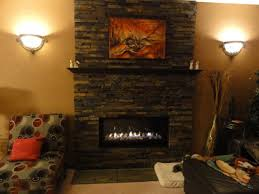 enhance your home with a stone veneer fireplace