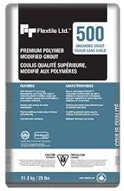500 P M Unsanded Grout Flextile