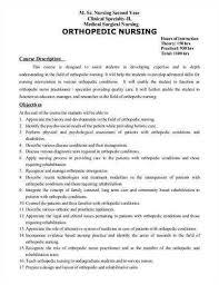 orthopedic clinic nurse resume ecordura com