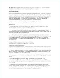 Good Resume Mesmerizing Good Profile for Resume Awesome How to Write A Good Resume Objective