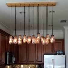 diy mason jar lighting. 16 Light DIY Mason Jar Chandelier - Rustic Cedar Diy Lighting