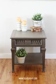 grey painted furnitureChalk Painted Furniture by Color  Grey Chalk Paint
