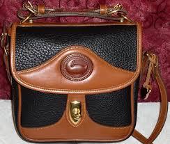 dooney bourke carrier cross shoulder bag vintage mint