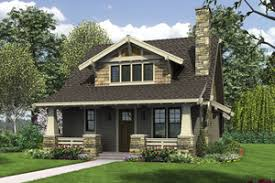 Craftsman House Plans   Houseplans comBungalow Exterior   Front Elevation Plan       Houseplans com