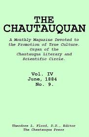 The Project Gutenberg eBook of The Chautauquan, Vol. IV, June 1884 ...