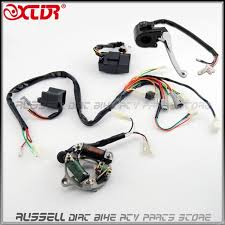 complete wire wiring harness loom ignition switch cdi unit magneto Engine Wiring Harness at Pw50 Wiring Harness