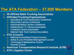 「american trucking associations (ata)」の画像検索結果