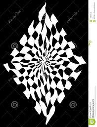 Optical Designs Diamond Optical Vertical Stock Illustration Illustration Of