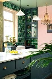 green kitchen backsplash blue glass kitchen blue glass tile kitchen
