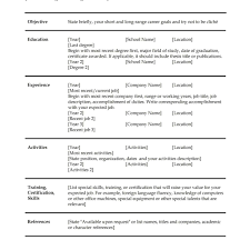 Totally Free Resume Resume For Homemaker With No Work Experience Job Search Corel 32