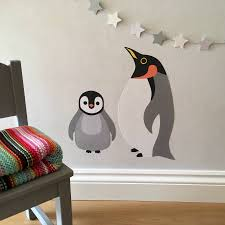 penguin wall stickers on penguin wall art for nursery with penguin wall stickers wall sticker penguins and walls