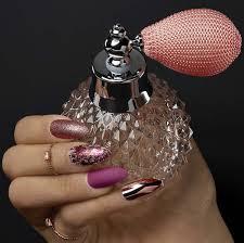 Ardell Umělé Nehty Chromové Růžové Zlaté A Mramorové V Mixu Sada S Lepidlem Almond Nail Addict Chrome Pink Foil 2g