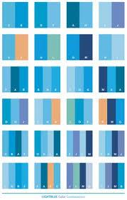 Color Schemes   Light blue color schemes, color combinations, color  palettes for print .