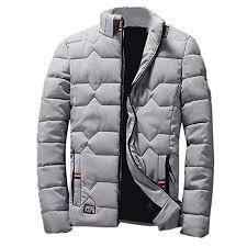 Ennglun Boys Pea Coat Mens Winter Wool Thickening Coat