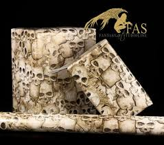 fantasy gift wrap bones