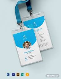 36 Free Id Card Templates Word Psd Indesign Apple