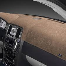 dash designs brushed suede taupe dash cover