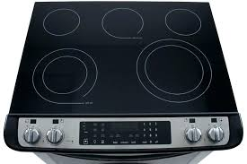 frigidaire glass cooktops glass top replacement impressive kitchen the most elegant frigidaire glass top stove self