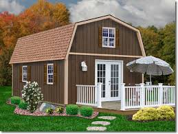 Small Picture Richmond 16 x 28 Wood Shed Kit by Best Barns would be great for
