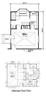 master bedroom suite plans. Master Bedroom Addition For One And Two-Story Homes - Project Plan 90027 Suite Plans