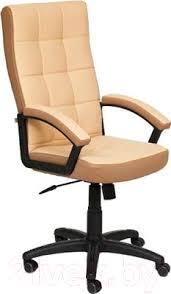 <b>Tetchair Trendy кожзам</b>/<b>ткань</b> (бежевый/бронзовый) <b>Кресло</b> ...
