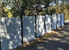 corrugated metal fences corrugated tin metal fence around property and backyard corrugated metal fence plans corrugated