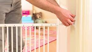 wall fix safety gate installation guide how to fit your child baby stair gate you