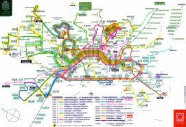 granada bus routes map  albaicin • mappery