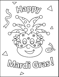 Small Picture Mardi Gras Coloring Pages