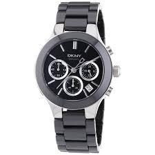 dkny women s ceramic chronograph watch shipping today dkny women s ceramic chronograph watch