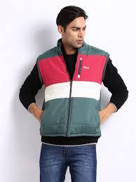 fila men. fila men slate grey \u0026 pink iceland reversible sleeveless jacket (multicolor)
