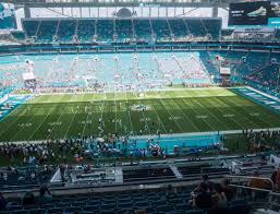 Miami Dolphins Hard Rock Stadium Seating Chart Hard Rock Stadium Section 347 Seat Views Seatgeek