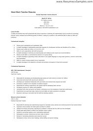 resume for teacher job application sales teacher lewesmr
