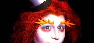 apply alice in wonderland mad hatter makeup