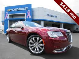 Search used Chrysler 300 Vehicles at Freeland Chevrolet ...