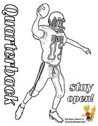 42 Best Fearless Free Football Coloring Pages Images Free