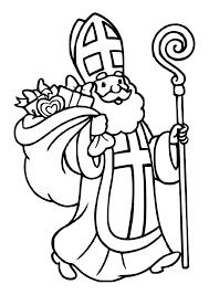 Kleurplaat Sinterklaas Afb 30607 Images