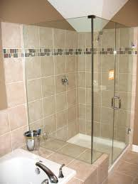 bathroom tile accents tiles glass room divider brown wall colorful mosaic accent tile designs for bathrooms