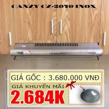 Máy hút mùi cổ điển Canzy CZ-2070 INOX