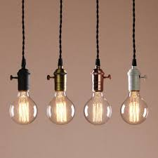 Deco Cluster 1 3 Vintage Ceiling Light Antique Holder Hanging Lamp