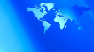 Map Of The World Background Blue Abstract Presentation Background World Map 4k Motion Background