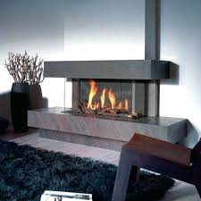 unique ideas sided gas fireplace 3 electric insert three double wood
