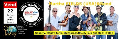 Martha Fields (USA) & Band | City Jazzy