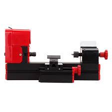 6 of 11 6 in 1 metal mini motorized lathe machine woodworking diy tool hobby modelmaking