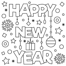The new year holiday takes place. January Coloring Pages Printable Free Coloring Sheets New Year Coloring Pages New Year Printables Printable Coloring Pages