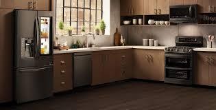 Stainless Steel Refridgerators Shop Lgs Black Stainless Steel Appliances Lg Usa