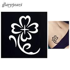 1 шт временная аэрограф трафарет для татуировки хной для женский боди арт