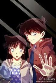 ran and shinichi detective conan