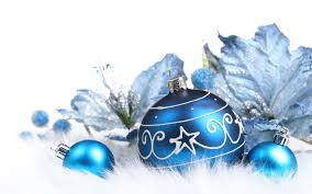 blue and white christmas background. Wonderful Christmas Christmas Bulbs With White  Throughout Blue And Background R